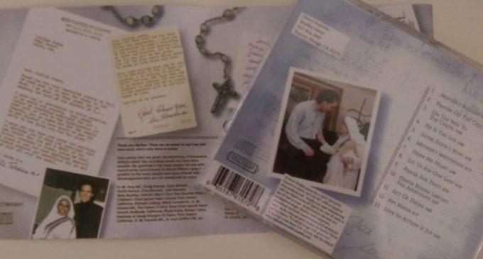 Las oraciones de Madre Teresa convertidas en música