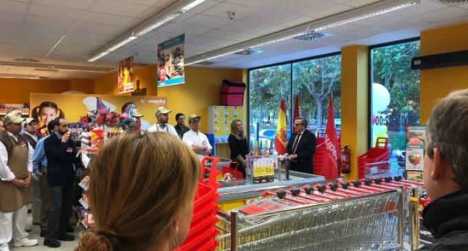 De Foxá inaugura el primer supermercado Supersol en Majadahonda