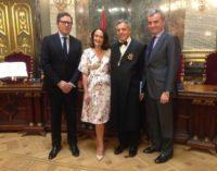 Ibarrola asiste a la toma de posesión de Eduardo de Porres como magistrado del Tribunal Supremo