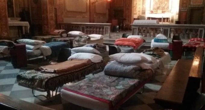 El Vaticano abre una iglesia para que mendigos duerman durante la ola de frío