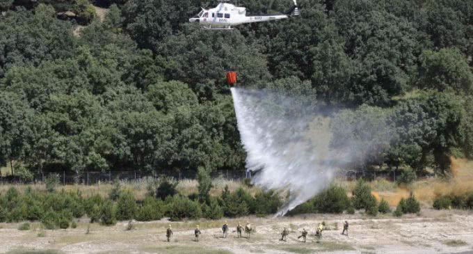 Cifuentes presenta el Plan INFOMA 2016 contra incendios forestales, con más de 4.300 efectivos