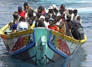 Inmigración. Patera