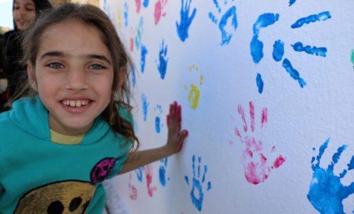 El lugar donde se refugian los sueños de cientos de niños sirios