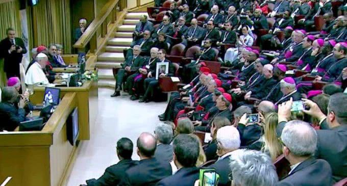 El Santo Padre: 'Solo la integración entre los pueblos puede dar un futuro de paz y de esperanza'
