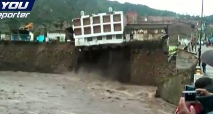 Perú en emergencia inundaciones. Cardenal pide oraciones al Señor de los Milagros