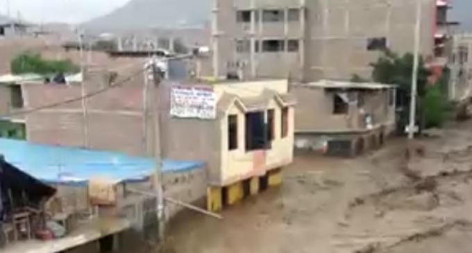 Inundaciones en Perú, el Santo Padre dispone una donación de 100 mil euros