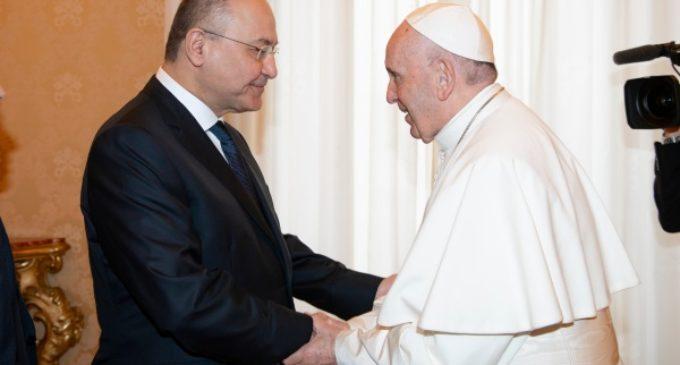 Iraq: El Papa y Barham Saleh resaltan la presencia de los cristianos en el país