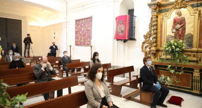Díaz Ayuso, Almeida y Villacís asisten a la misa solemne de San Isidro, patrón de la ciudad de Madrid