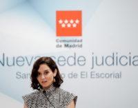 """Díaz Ayuso defiende la creación de la Oficina del Español: """"No es un chiringuito, llevo dos años anunciado que quiero crear este proyecto"""""""