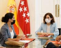 Díaz Ayuso se reúne con los portavoces parlamentarios de la oposición para abordar el programa del Gobierno de los próximos meses