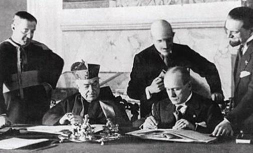 Italia: 11 de febrero, 91 años de los Pactos de Letrán