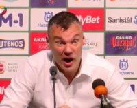 Jasikevicius, mítico ex jugador del Barça, defendió la paternidad de uno de sus jugadores