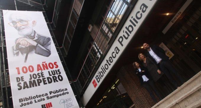 La Comunidad de Madrid bautiza con el nombre de José Luis Sampedro la biblioteca de Chamberí
