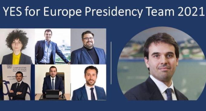 José Campos, nombrado nuevo presidente de la Confederación Europea de Jóvenes Empresarios