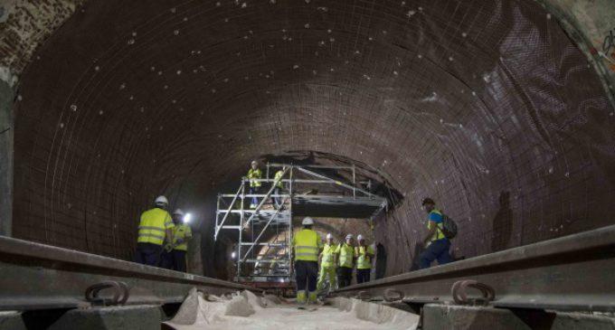 Las obras de remodelación y mejora de la línea 1 de Metro, ejecutadas ya al 36 por ciento