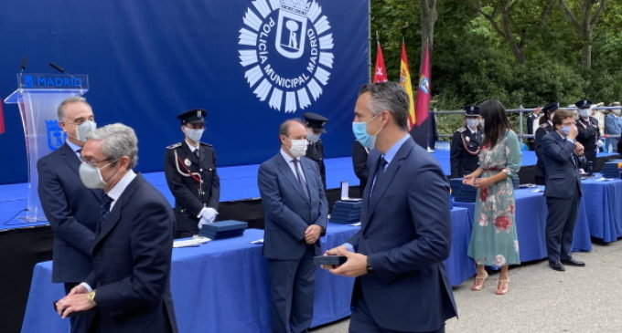 La Agencia de Seguridad y Emergencias Madrid 112 condecorada por la Policía Municipal de Madrid