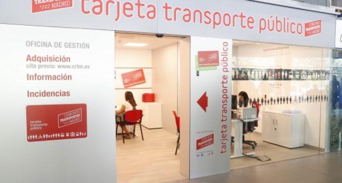 La Comunidad abre dos nuevas Oficinas de Gestión para los usuarios de la Tarjeta de Transporte Público