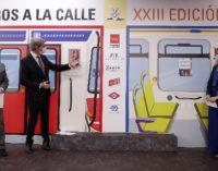 La Comunidad acerca los grandes autores a los usuarios del transporte público madrileño con Libros a la Calle