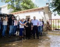 La Comunidad anuncia ayudas para paliar los efectos del fuerte temporal en el sureste de la región
