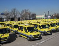 La Comunidad aumenta casi un 10 % el número de ambulancias para traslados programados