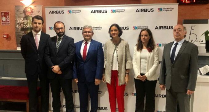 La Comunidad colabora con Airbus para potenciar su actividad en la región