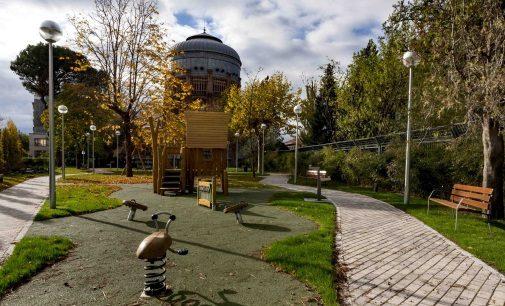 Abierto al público un nuevo parque en las instalaciones de Canal de Isabel II de Ríos Rosas
