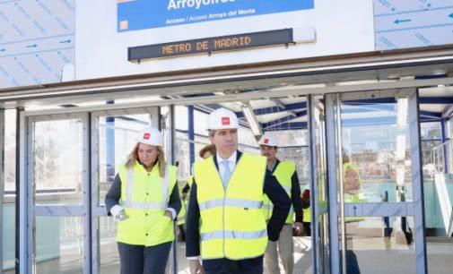 La Comunidad de Madrid abrirá la estación de Metro de Arroyofresno el próximo 23 de marzo