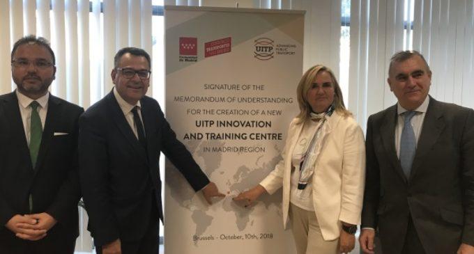 La Comunidad de Madrid acogerá el primer Centro de Innovación y Formación de la UITP en España
