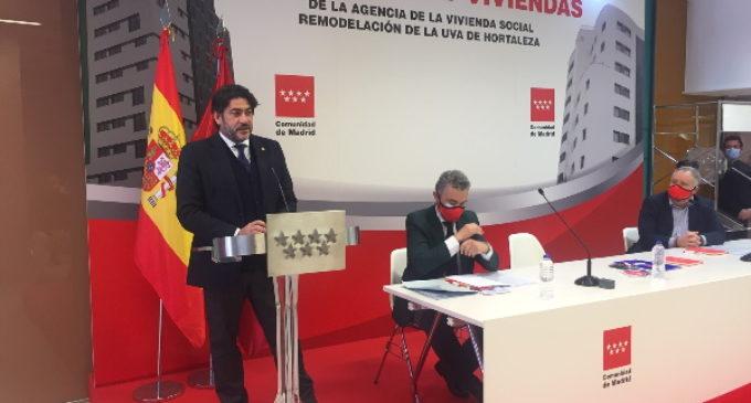 137 viviendas sociales son adjudicadas por la Comunidad de Madrid en la UVA de Hortaleza