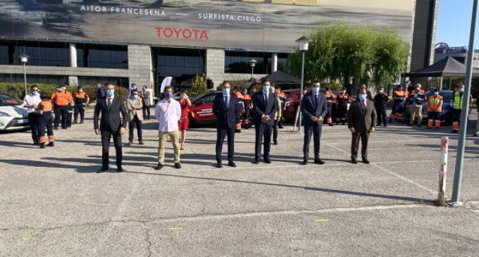 La Comunidad agradece a Toyota su compromiso con los madrileños durante la crisis del COVID-19