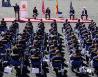 El Cuerpo de Bomberos de la Comunidad de Madrid se amplia con la incorporación de 100 nuevos efectivos