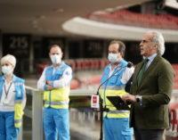 Madrid comienza a vacunar frente al COVID-19 a población de 77, 78 y 79 años en los centros de salud