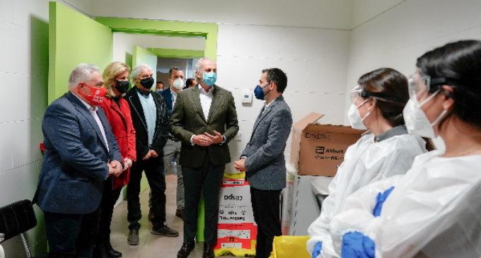 Comienzan en Madrid los test de antígenos a trabajadores de hostelería en el Plan Sumamos Salud+Economía