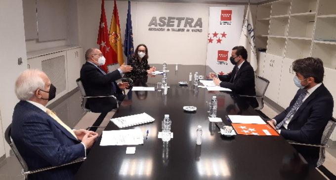 La Comunidad de Madrid concederá ayudas a los talleres de vehículos de la región excluidos del reparto de fondos del Gobierno central