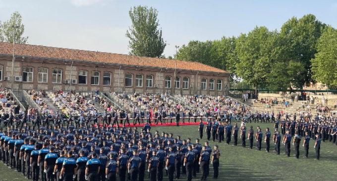La Comunidad de Madrid concluye la formación de 438 aspirantes y agentes de Policía Local