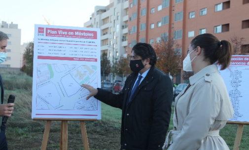 La Comunidad de Madrid construirá en Móstoles 381 viviendas adscritas al Plan Vive