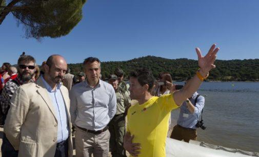 La Comunidad de Madrid coordina el primer dispositivo diario de seguridad en el pantano de San Juan
