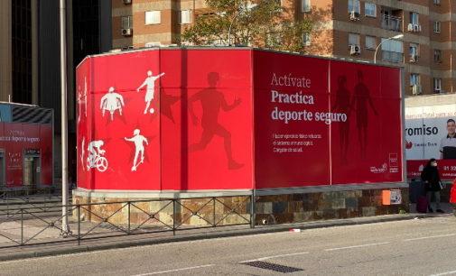 Madrid difunde una campaña de promoción de la actividad física y contra el sedentarismo