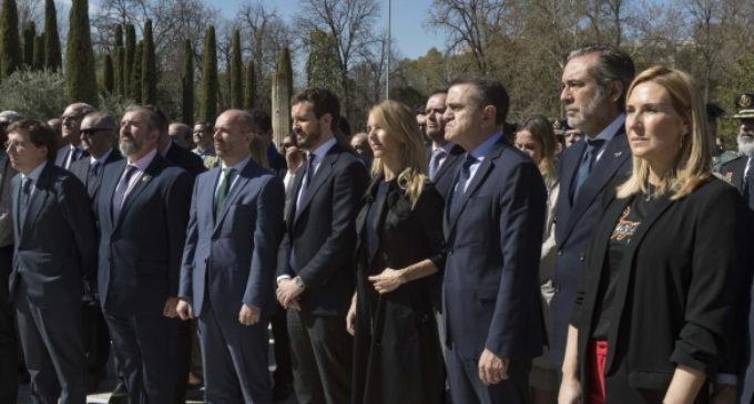 La Comunidad de Madrid ensalza el sacrificio y la dignidad de las víctimas del terrorismo