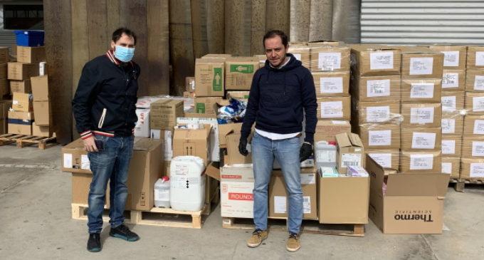 La Comunidad de Madrid envía material de laboratorio y equipos de protección del IMIDRA a los hospitales