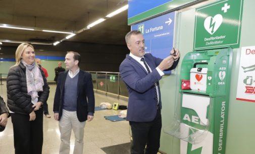 259 desfibriladores han sido instalados en la red de Metro por la Comunidad de Madrid