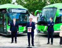 Madrid fomenta las mejores prácticas frente al COVID-19 en su red de autobuses
