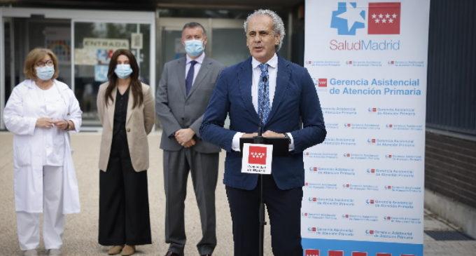 Se implanta en Madrid un programa de rehabilitación para pacientes post-COVID en las 103 Unidades de Fisioterapia de los centros de salud