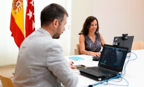 La Comunidad de Madrid inaugura el Salón de Actos Virtual para conectar online con hasta 2.000 asistentes