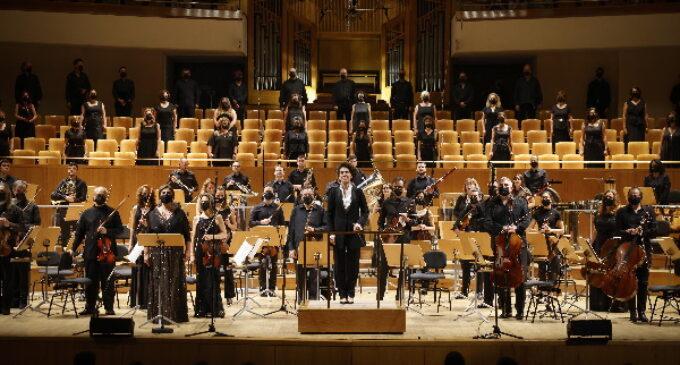 Inauguración de la temporada sinfónica de la Fundación Orquesta y Coro de la Comunidad de Madrid bajo la dirección artística de Marzena Diakun