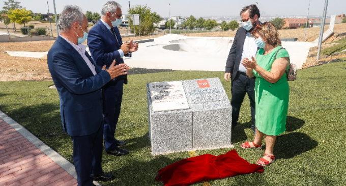 En homenaje a Ignacio Echeverría, se inaugura un skatepark en Paracuellos de Jarama