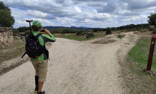 Las rutas accesibles para las personas con discapacidad visual en la Sierra de Guadarrama han sido incrementadas