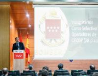 Madrid inicia el curso de formación de 28 operadores de nuevo ingreso del Cuerpo de Bomberos regional
