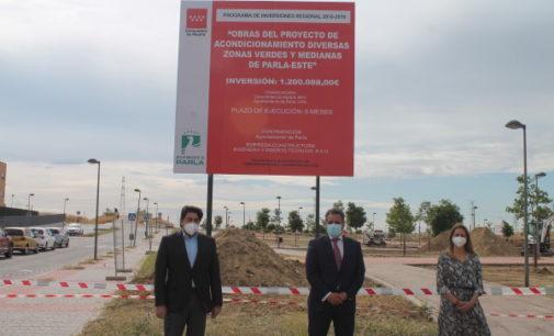 La Comunidad de Madrid invierte 1,2 millones de euros en la remodelación de zonas verdes en Parla
