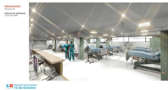 La Comunidad de Madrid invierte 4,3 millones en las obras de reforma integral de las Urgencias de Adultos del Hospital 12 de Octubre